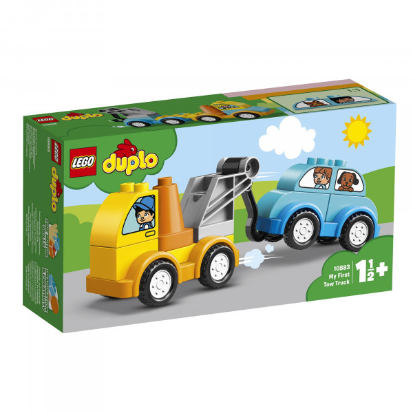 LEGO® DUPLO® 10883 My First Tow Truck, Age 1½+, Building Blocks (11pcs)