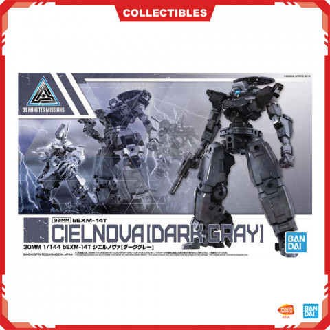 Gundam 30Mm 1/144 Bexm-14T Cielnova [Dark Gray]