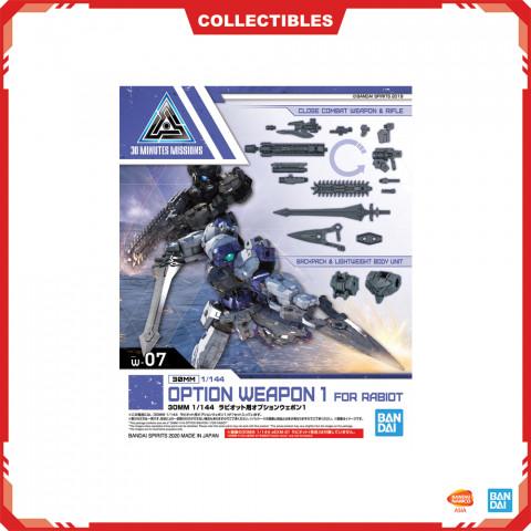 Gundam 30MM 1/144 Option Weapon 1 For Rabiot