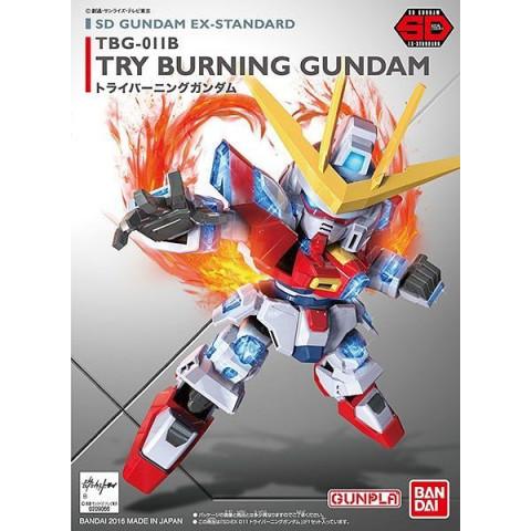 Gundam SDX Standard Try Burning Gundam (GunPla)