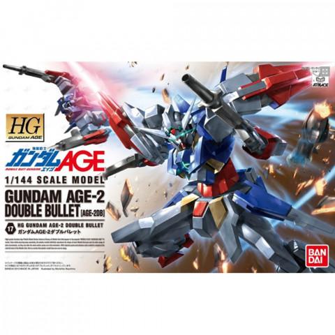 Gundam HG 1/144 Gundam Age-2 Double Bullet 17 (GunPla)
