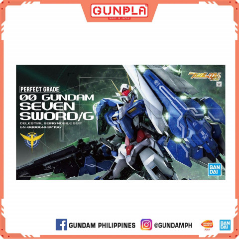 Gundam PG 1/60 OO Gundam Seven Sword/G (GunPla)