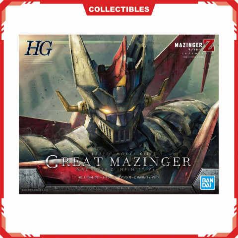 Bandai HG 1/144 Great Mazinger (Mazinger Z Infinity Version) (GunPla)
